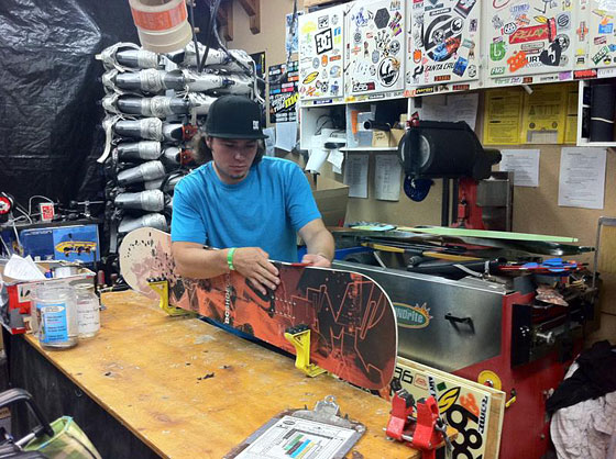Best Snowboard repair avalable in Northern California